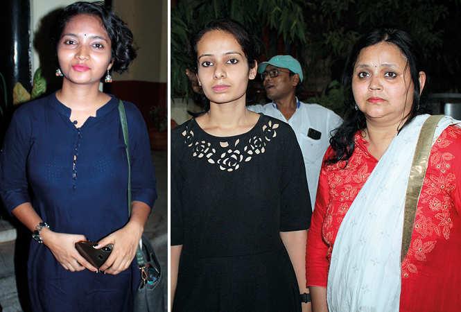 Akansha Gupta (R) Pariniti and Hitishi  (BCCL/ Arvind Kumar)