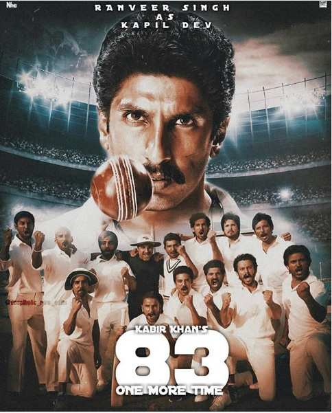 Image result for 83 movie poster