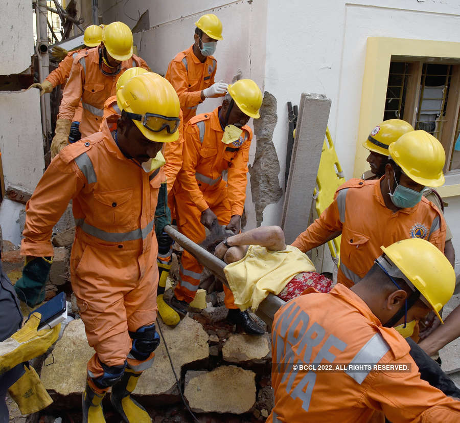 Five killed as two buildings collapse in Bengaluru