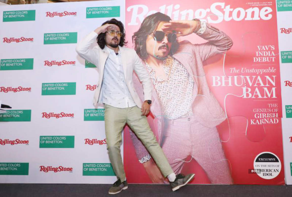 Bhuvan Bam unveils the July cover of a music magazine