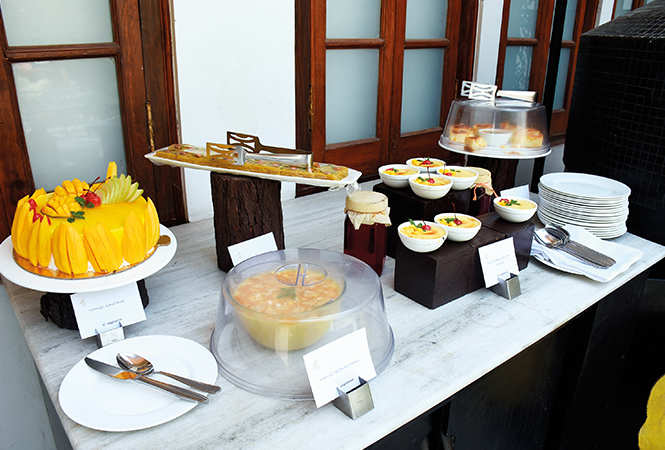 Mango was also the main ingredient in several dishes and desserts made especially for the show (BCCL/ Vishnu Jaiswal)