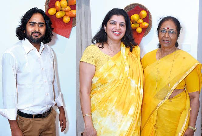 (L) Bhupendra Kumar Asthana (R) Jyotsna Kaur Habibullah and Julia Simlai (BCCL/ Vishnu Jaiswal)