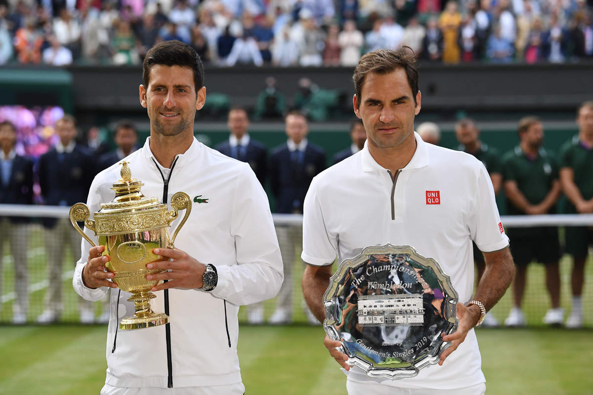 Five-hour Wimbledon finale ends in Djokovic's favour