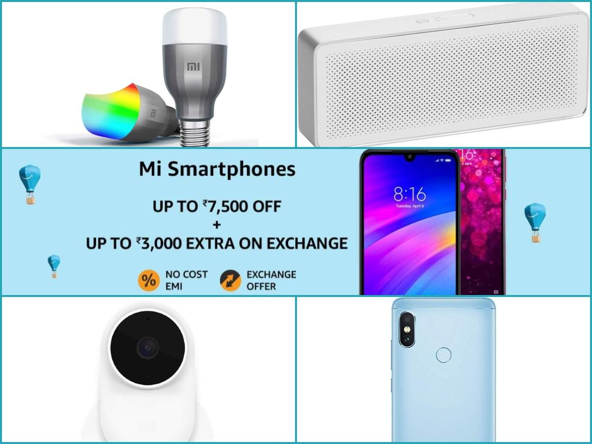 Amazon Prime Day Sale: Get discounts of up to Rs 7500 on these Xiaomi phones, airpurifiers and more