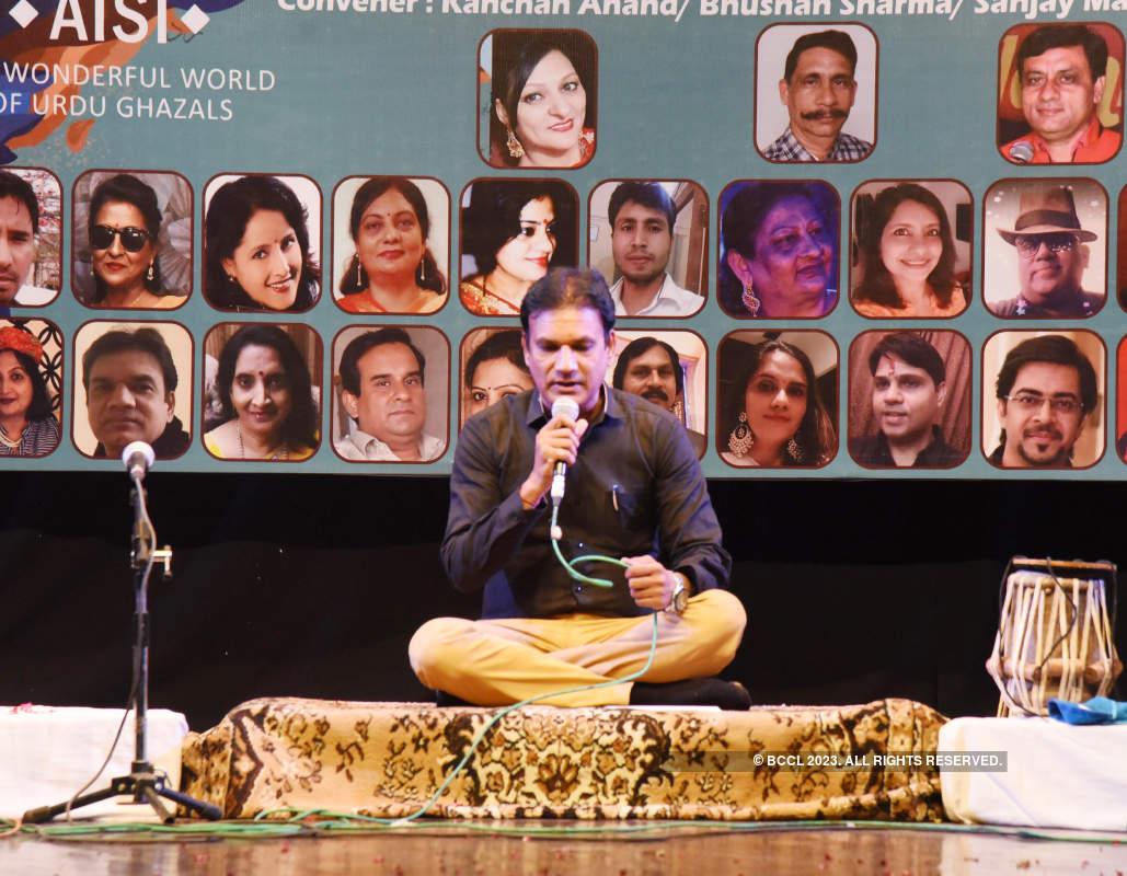 An evening dedicated to Urdu gazals