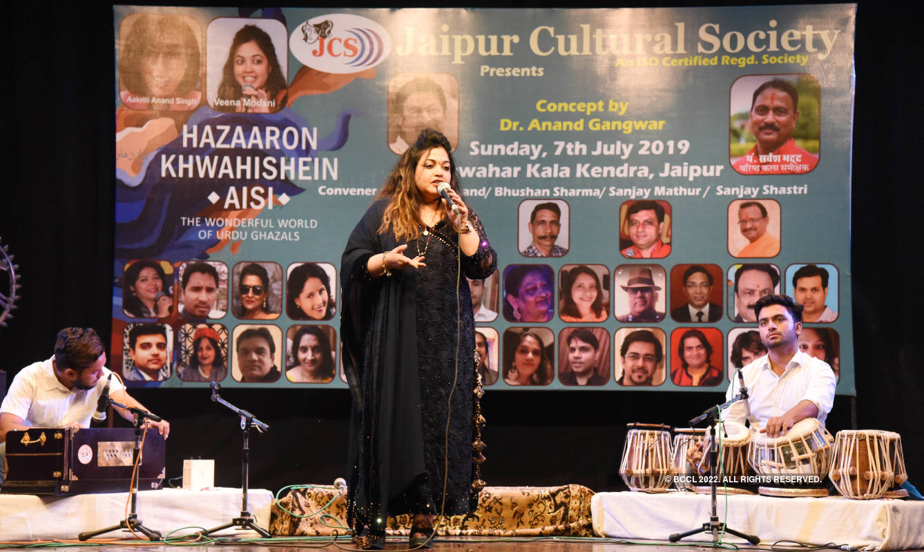 An evening dedicated to Urdu gazals