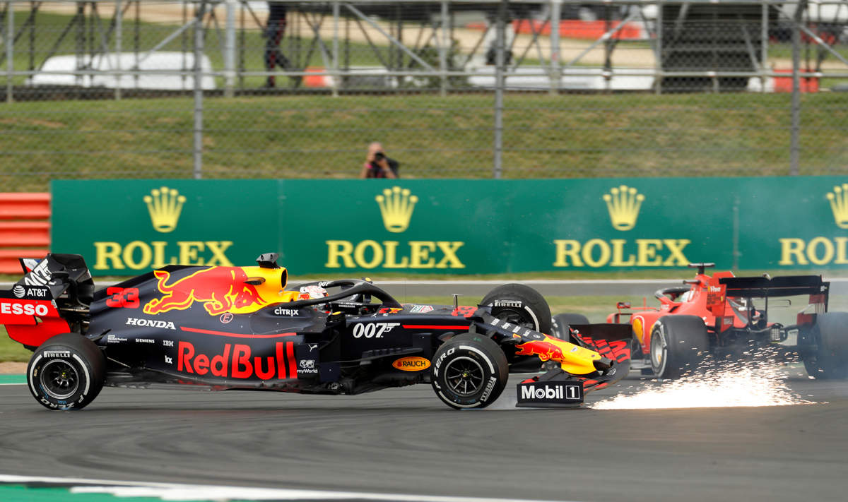 Fiery drama unfolds at British GP
