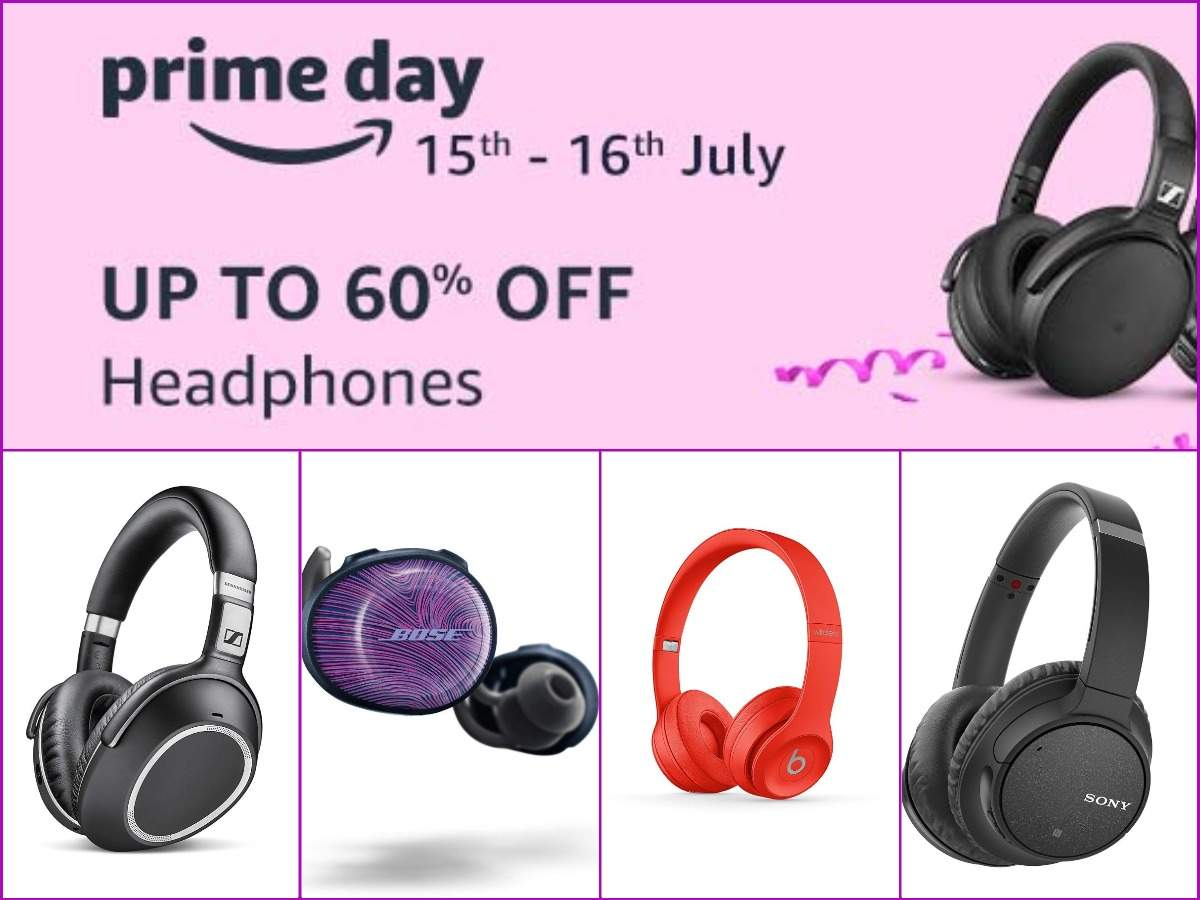 Amazon Prime Day sale: 10 headphones from Sony, Bose, Sennheiser and others you can buy at up to 60% off