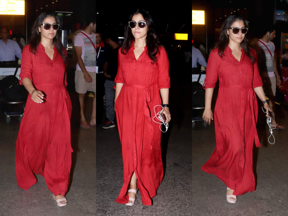 kajol red airport