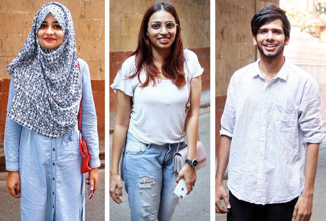 (L) Arisha (C) Ishita Singh (R) Parth Tewari (BCCL/ Aditya Yadav)