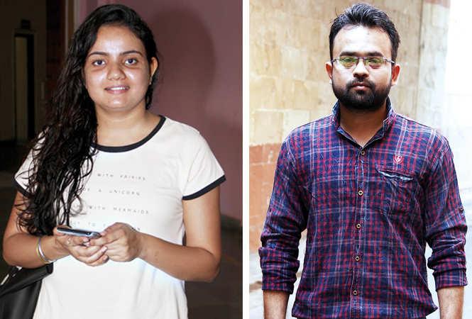 (L) Pragya Singh (R) Saurabh Gupta (BCCL/ Aditya Yadav)