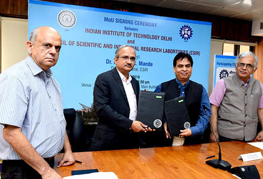 IIT Delhi to initiate 60 research projects with CSIR labs