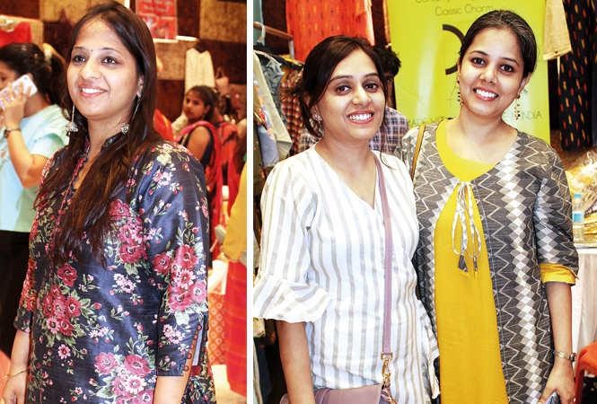 (L) Neha (R) Pallavi Jain and Parul Sah (BCCL/ Arvind Kumar)