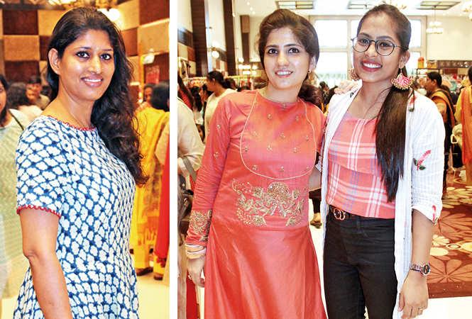 (L) Pushpanjali Sharma (R) Rashmi and Rati (BCCL/ Arvind Kumar)