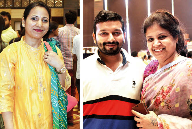 (L) Somya (R) Apurv Mittal and Sonia Didwania (BCCL/ Arvind Kumar)