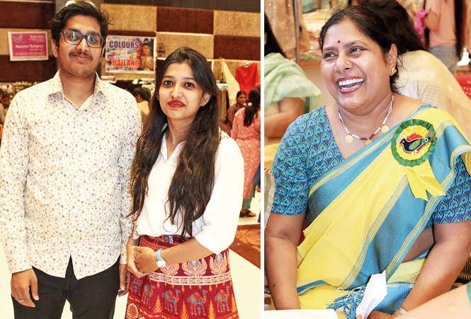 (L) Harsh and Arpita (R) Dr Kavita Sah (BCCL/ Arvind Kumar)
