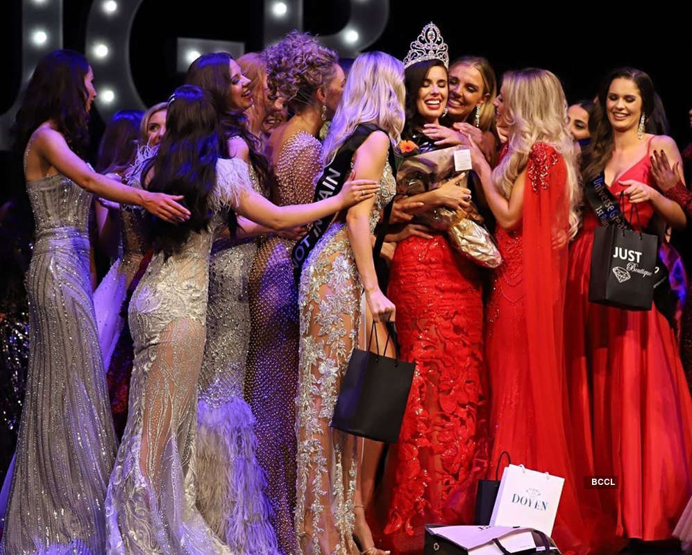 Emma Jenkins crowned Miss Universe Great Britain 2019