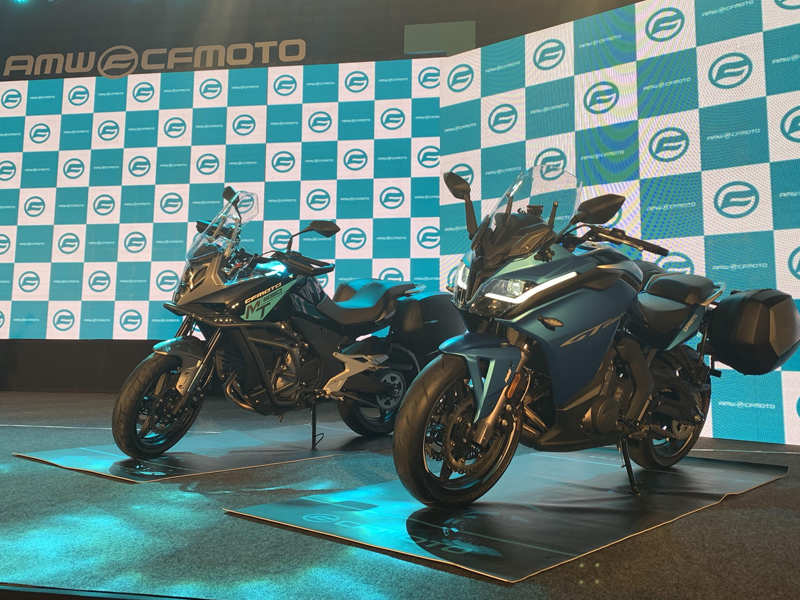 CFMoto's 300NK, 650NK, 650GT, 650MT bikes launched in India starting at Rs  2.29 lakh - Times of India