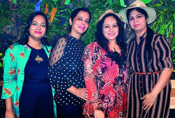 (L-R) Anshika, Paramjeet Kaur, Geeta Surekha and Rashmeet Kaur (BCCL/ IB Singh)