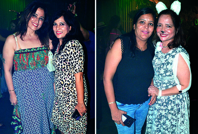 (L) Banu Tandon and Rosy Anand (R) Mehek Jhawar and Tazkia (BCCL/ IB Singh)