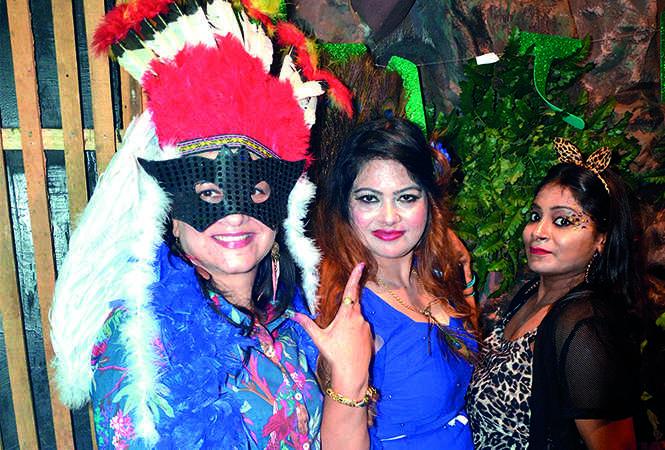 (L-R) Shireen Verma, Vandana Singh and Ajita Vishnoi (BCCL/ IB Singh)