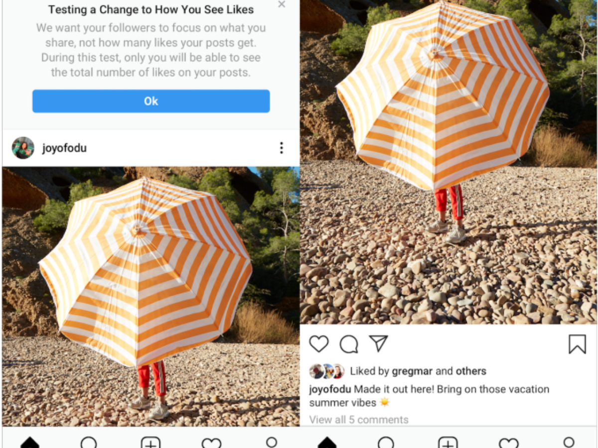 #NoMoreLikeForLike: Instagram is thinking of hiding 'likes' on your photos and videos