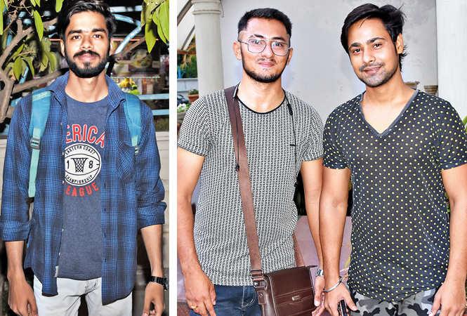 (L) Akash Dixit (R) Basant Kumar and Shashank Awasthi (BCCL/ Farhan Ahmad Siddiqui)