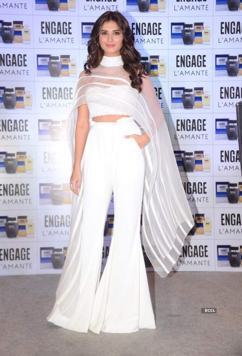 Tara Sutaria glams-up for a product launch