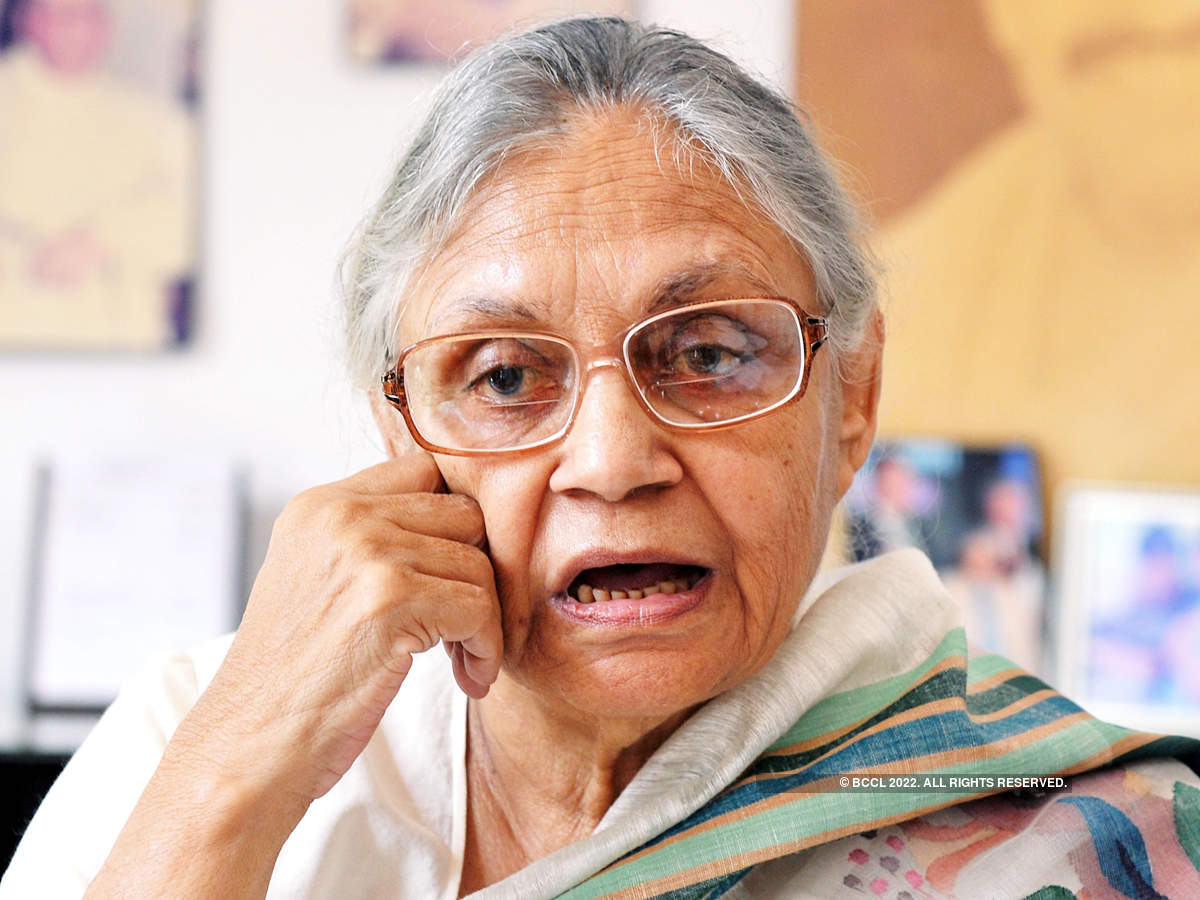 Former Delhi CM and Congress leader Sheila Dikshit passes away
