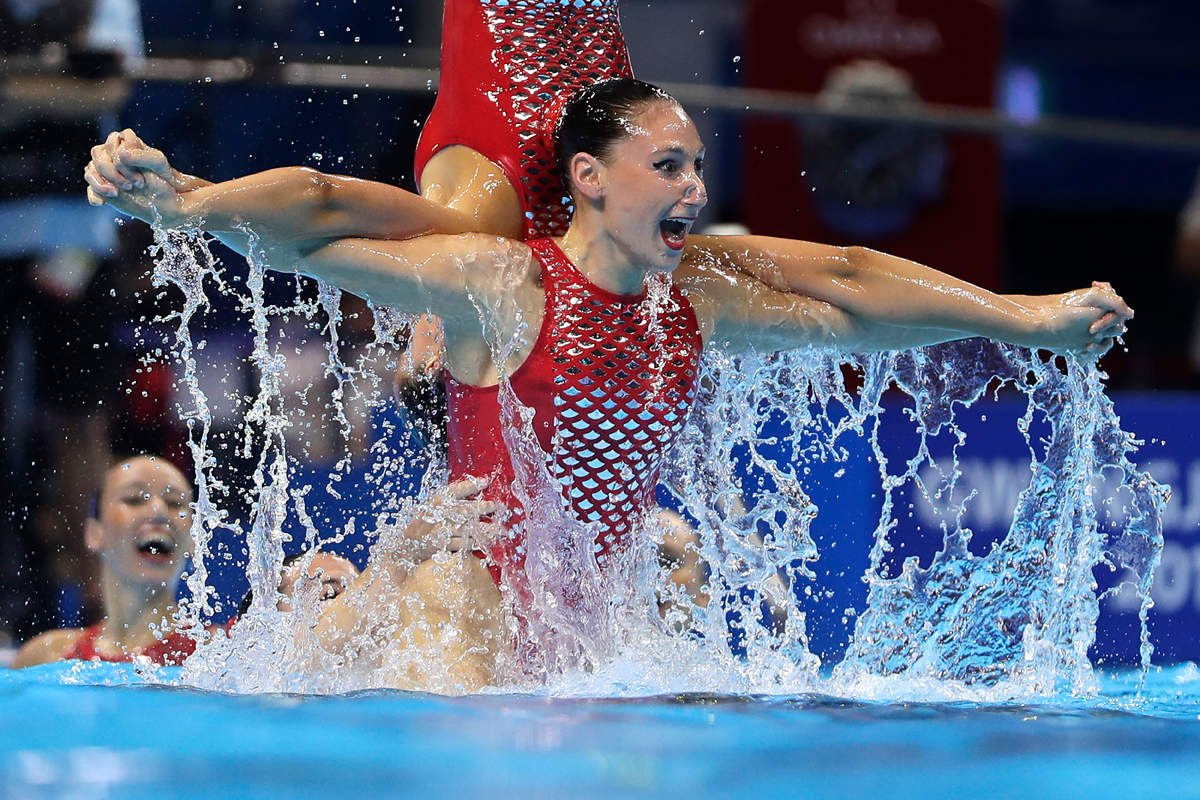 Stunning images from World Swimming Championships