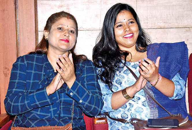 Pratisha (L) and Reetam Pandey  (BCCL/ Vishnu Jaiswal)