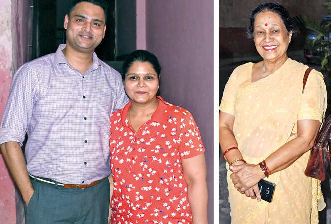 Major  Abhishek & Rupam Roy  (L) and Poornima Pandey  (BCCL/ Vishnu Jaiswal)
