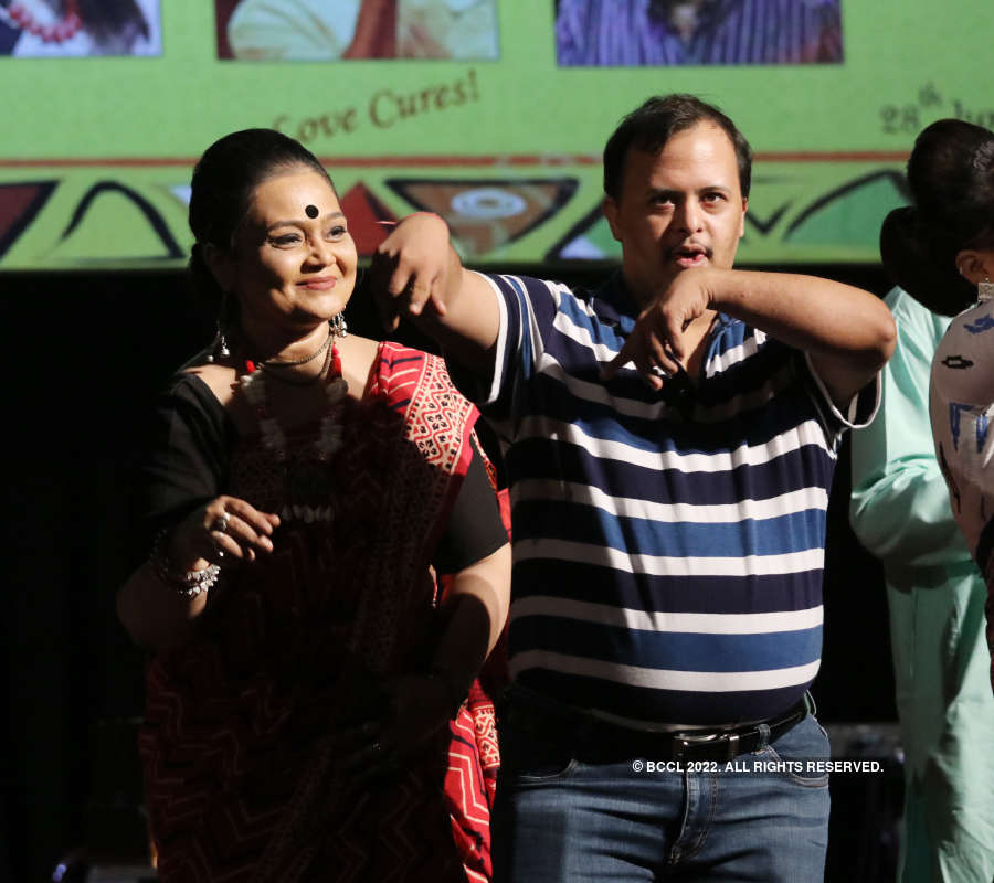 A musical evening for the specially abled children