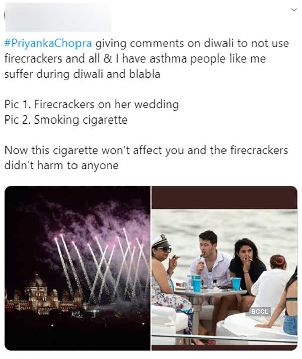 Priyanka snapped 'Smoking' with hubby & mommy, pictures go viral...