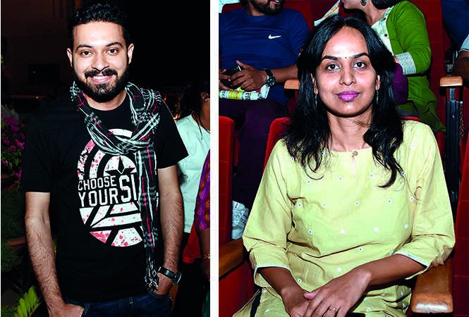 (L) Prafull Gaur (R) Pragya Saxena (BCCL/ Farhan Ahmad Siddiqui)