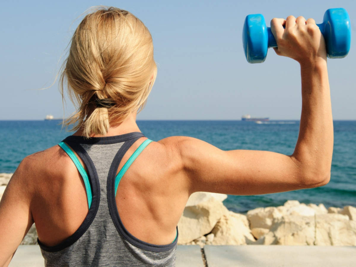 Weight loss: 6 simple workouts to lose your arm fat   The Times of India