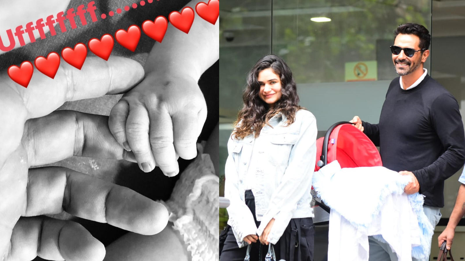 Arjun Rampal holds hands of his newborn son, shares heartwarming picture
