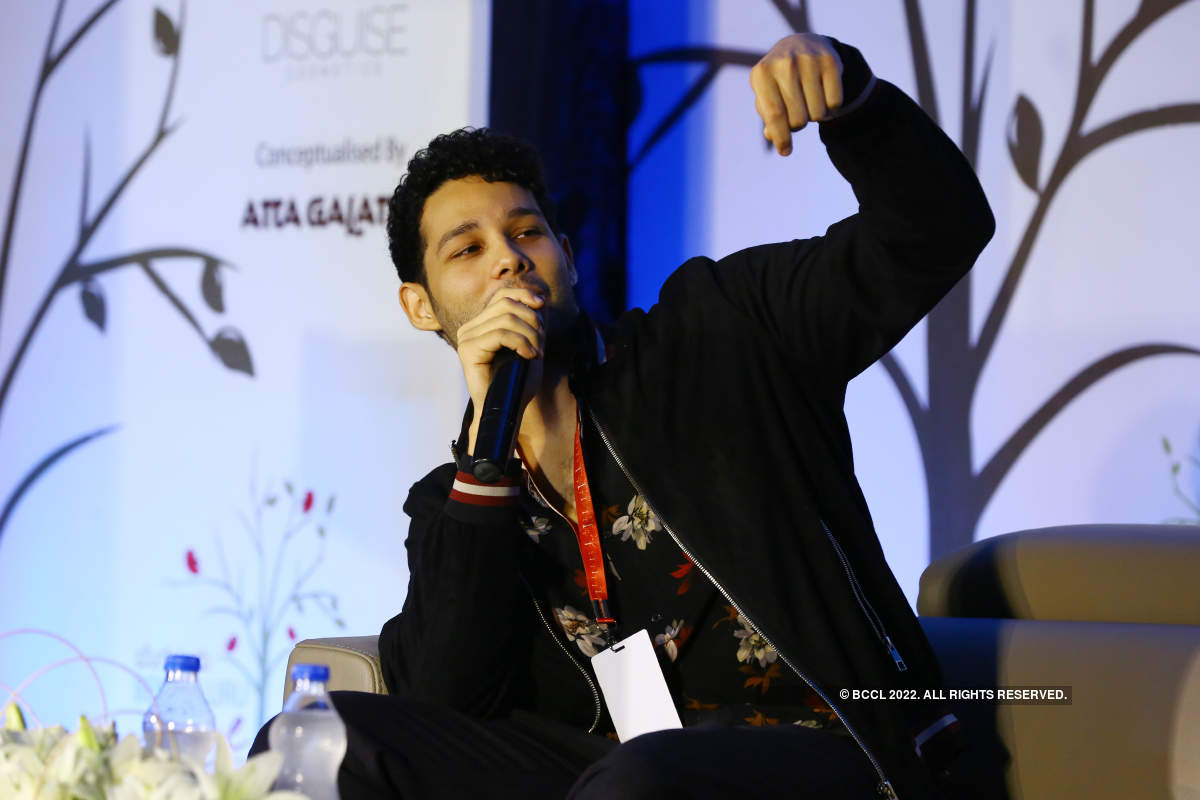 Siddhant Chaturvedi attends the Bengaluru Poetry Festival