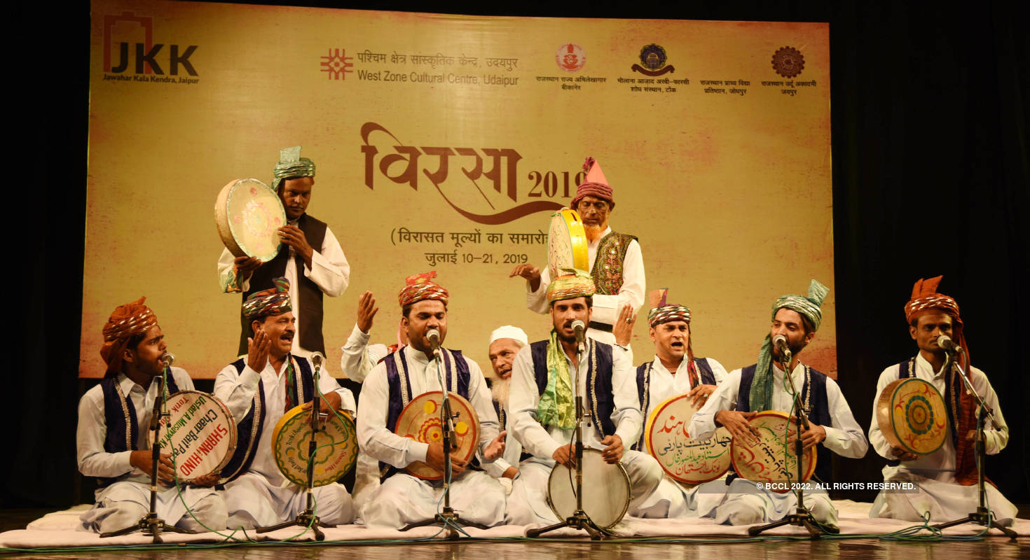 A festival that celebrates Rajasthan's heritage values 'Virsa 2019'