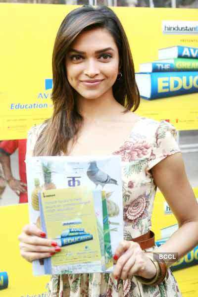 Deepika Padukone at 'Great Wall Of Education' event at ...