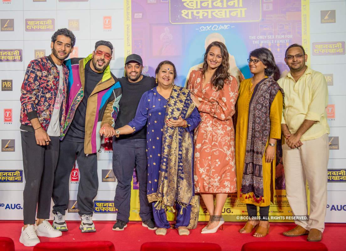 Khandaani Shafakhana: Trailer launch