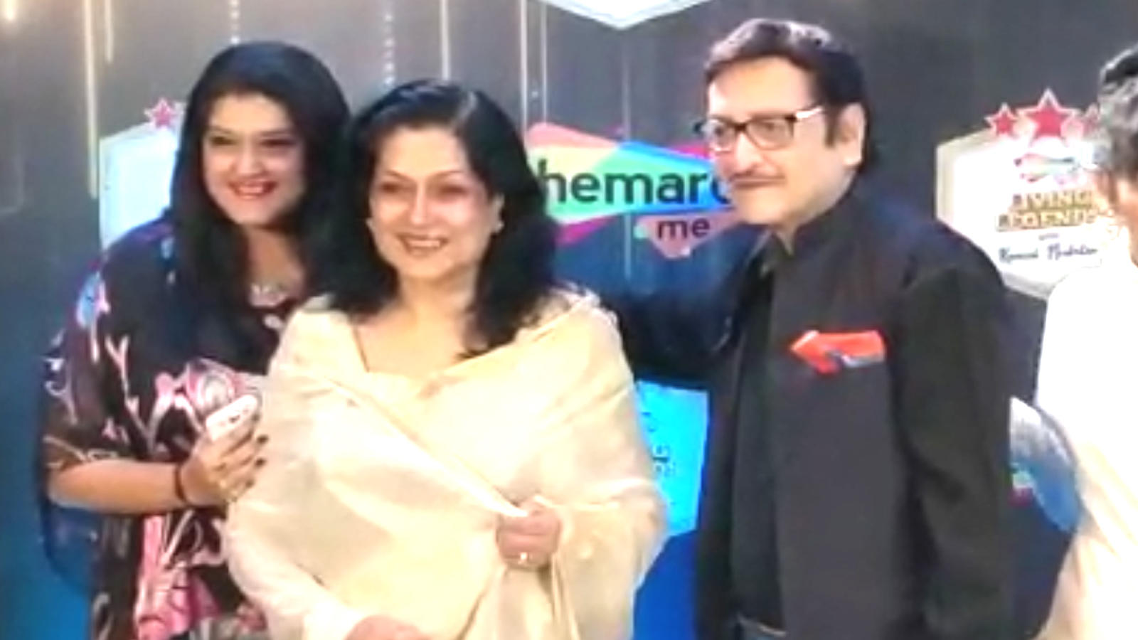 From Prem Chopra to Moushumi Chatterjee: Legendary Bollywood icons grace an event in Mumbai