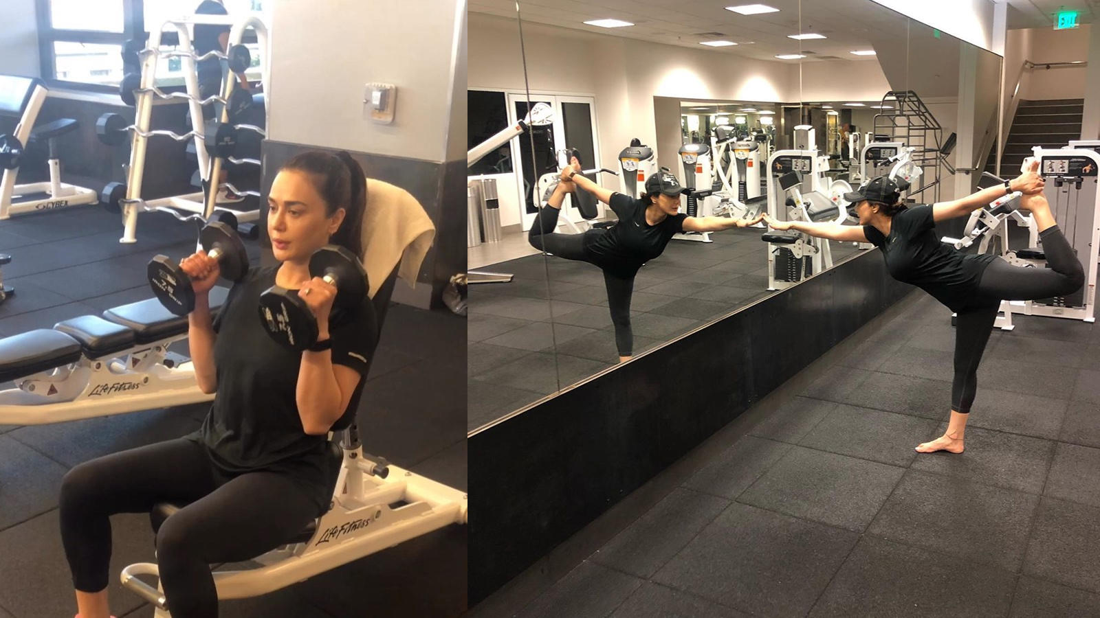 Preity Zinta's latest workout video gives serious fitness goals!