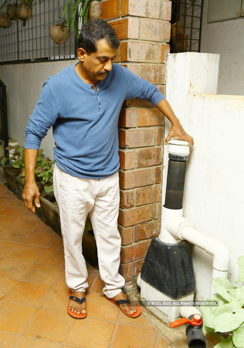 Rooftop rainwater harvesting is a solution for the city's water crisis