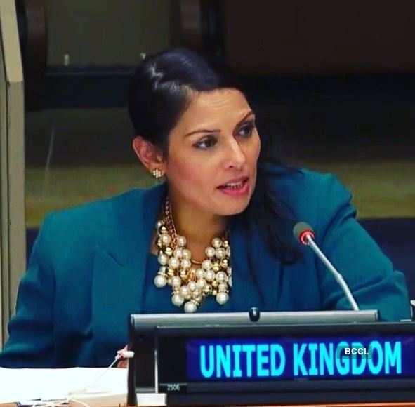 Meet Britain's first Indian-origin Home Secretary, Priti Patel