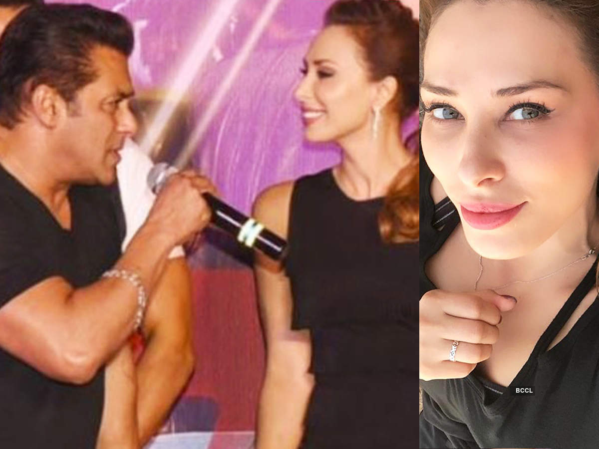 Salman Khan gifts Iulia Vantur diamond ring on her birthday, see pictures