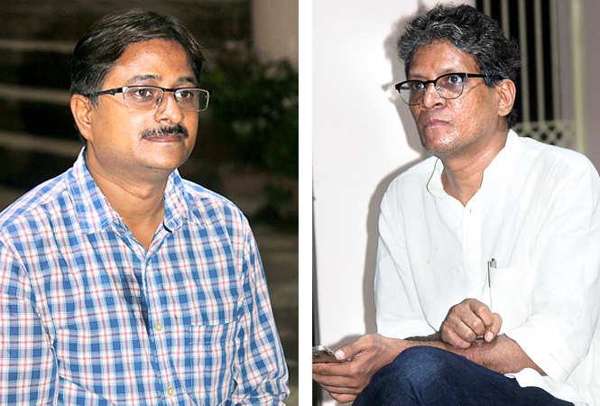 (L) Sunil K Vishwakarma (R) Suresh K Nair (BCCL/ Arvind Kumar)