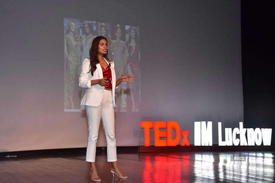 Noyonita Lodh delivers Ted talk
