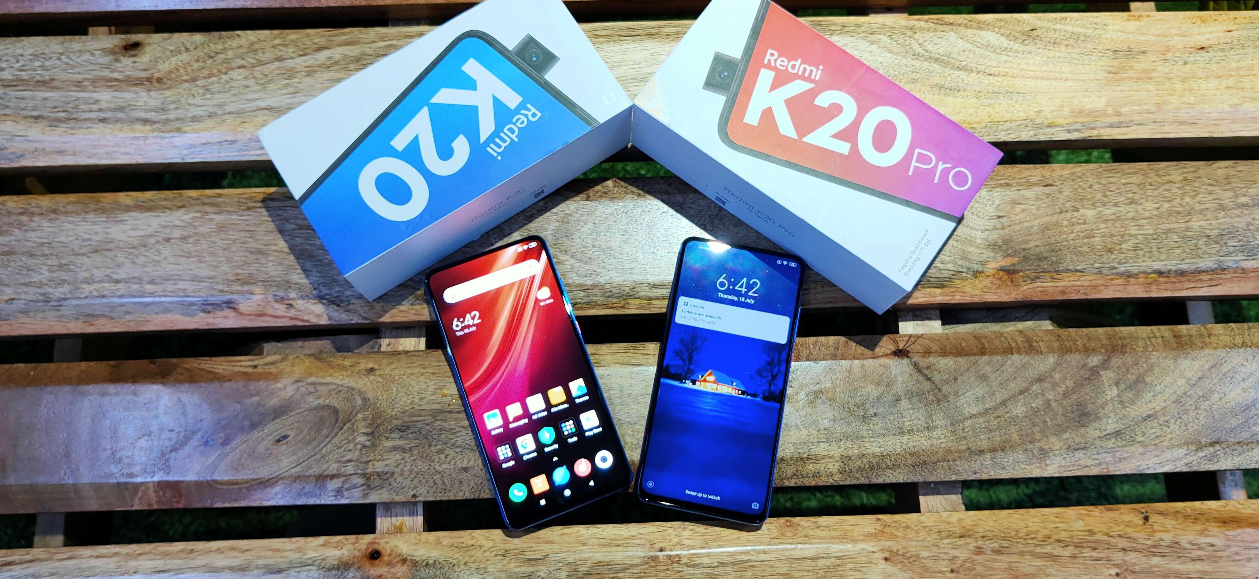 Redmi K20 Vs K20 Pro Xiaomi Redmi K20 Pro Vs Xiaomi Redmi K20
