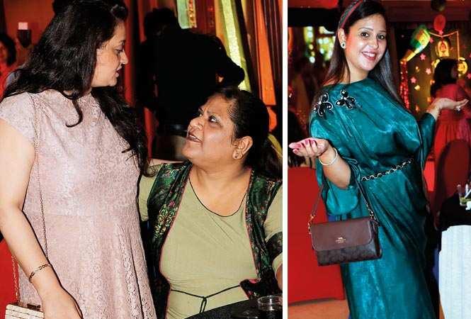(L) Loveleen Katuria and Rachana Behal (R) Minnie Sabharwal (BCCL/ Unmesh Pandey)